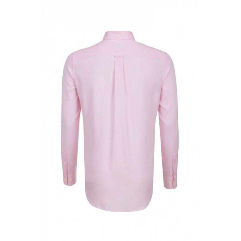 Koszula Pinpoint Oxford Gant różowy