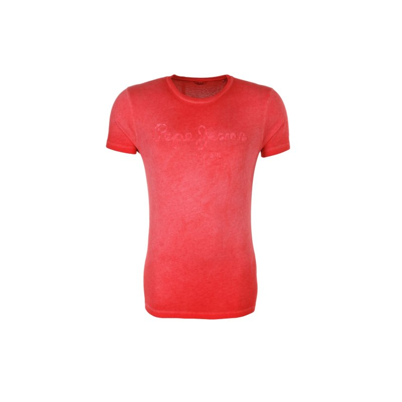 T-shirt Battersea Pepe Jeans London czerwony