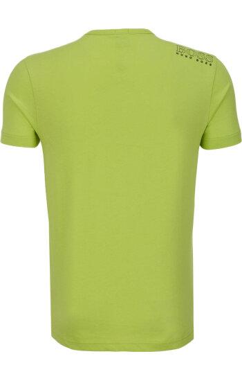 T-Shirt Tee Boss Athleisure limonkowy