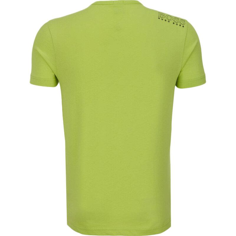 T-Shirt Tee Boss Green limonkowy