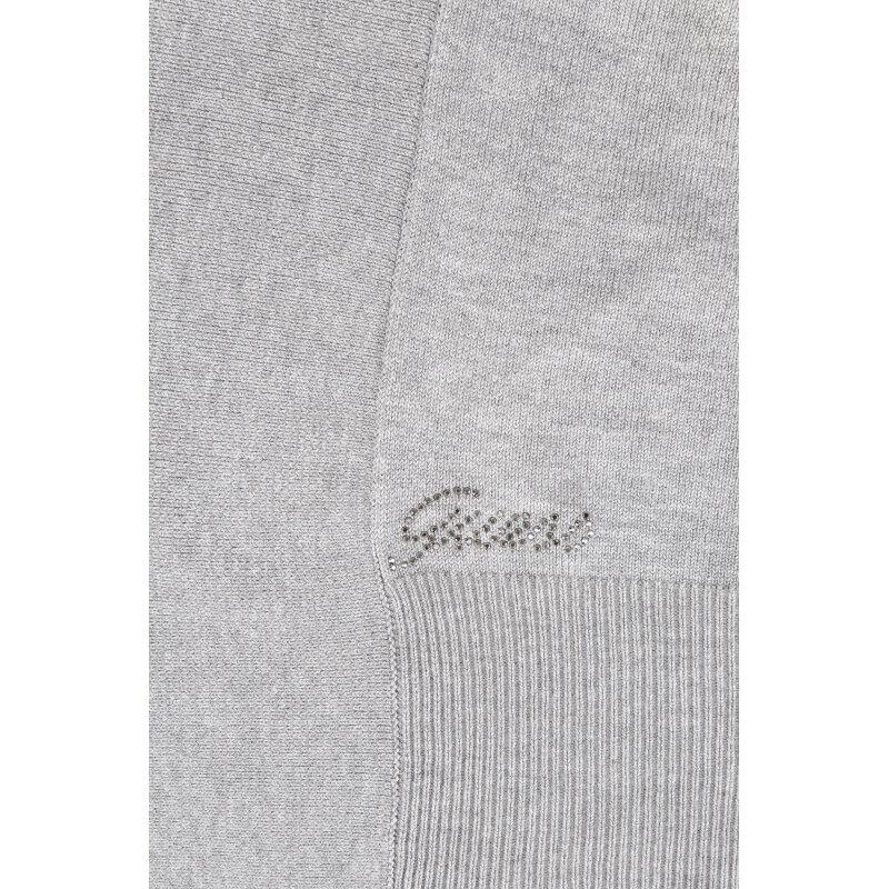 Kardigan Guess Jeans szary
