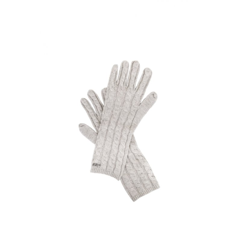 Farika Gloves Tommy Hilfiger ash gray