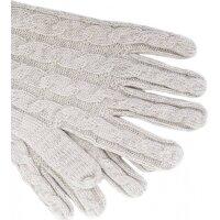 Rękawiczki Farika Tommy Hilfiger popielaty