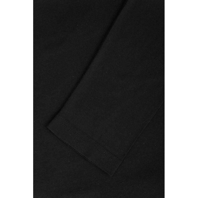 Longslevve/piżama Tommy Hilfiger czarny