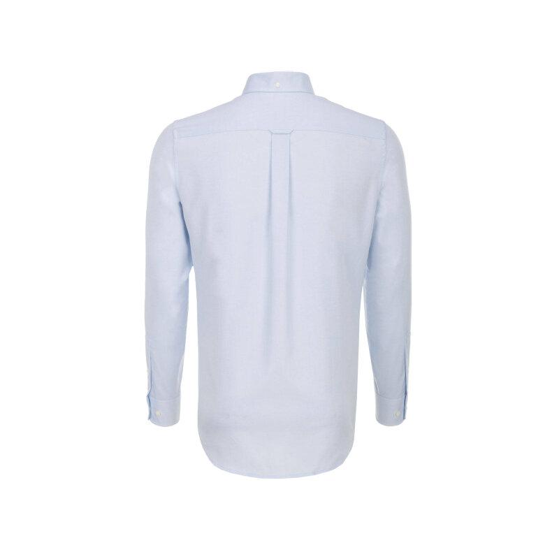 Koszula Pinpoint Oxford Gant błękitny