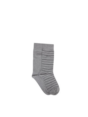 Boss Fine Stripe 2-pack Socks