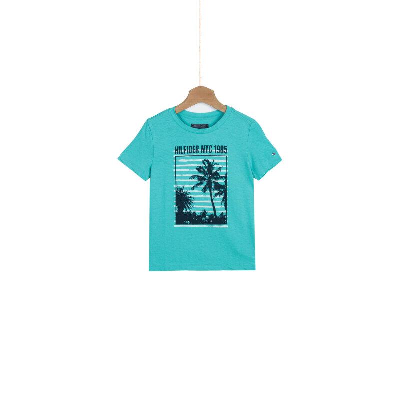T-shirt Cinema Tommy Hilfiger zielony