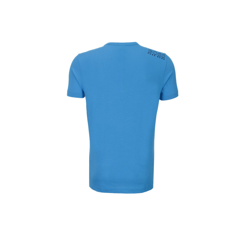 T-Shirt Tee Boss Green niebieski