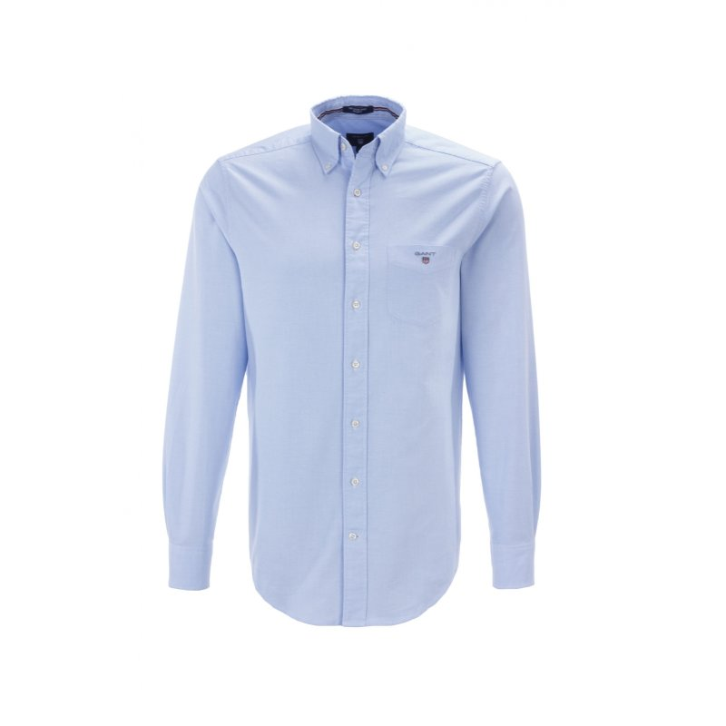 The Oxford shirt Gant blue