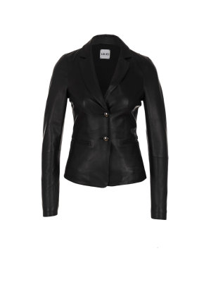 Liu Jo Leather Blazer