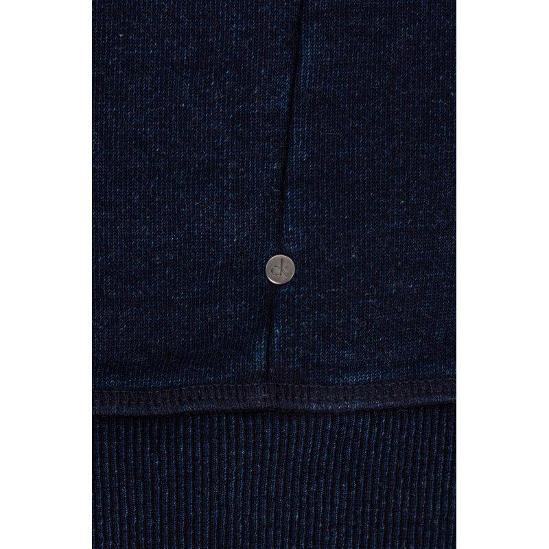 Sweatshirt Calvin Klein Jeans navy blue
