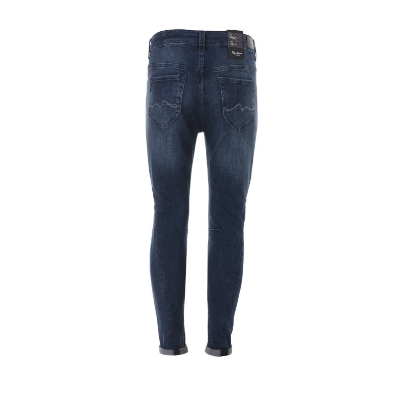 Boyfriendy Topsy Pepe Jeans London niebieski