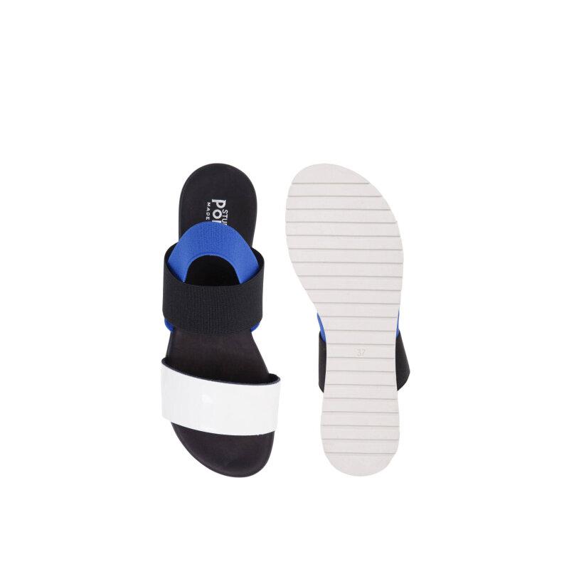 Sandały Pollini biały