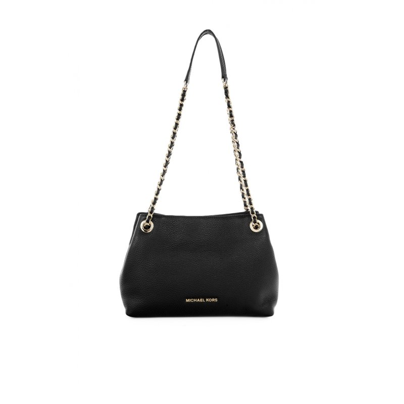 Jet Set Chain Baguette Michael Kors black