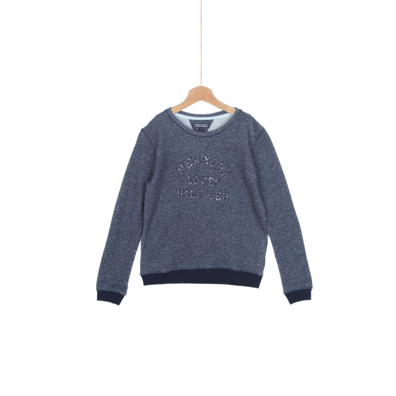 Sweatshirt Tommy Hilfiger navy blue