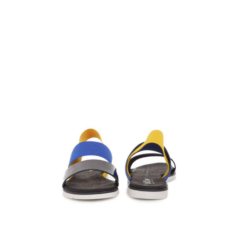 Sandals Pollini black