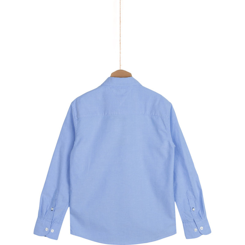 Koszula Solid Oxford Tommy Hilfiger niebieski
