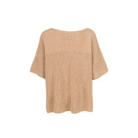 Sweter Poggio Weekend Max Mara beżowy