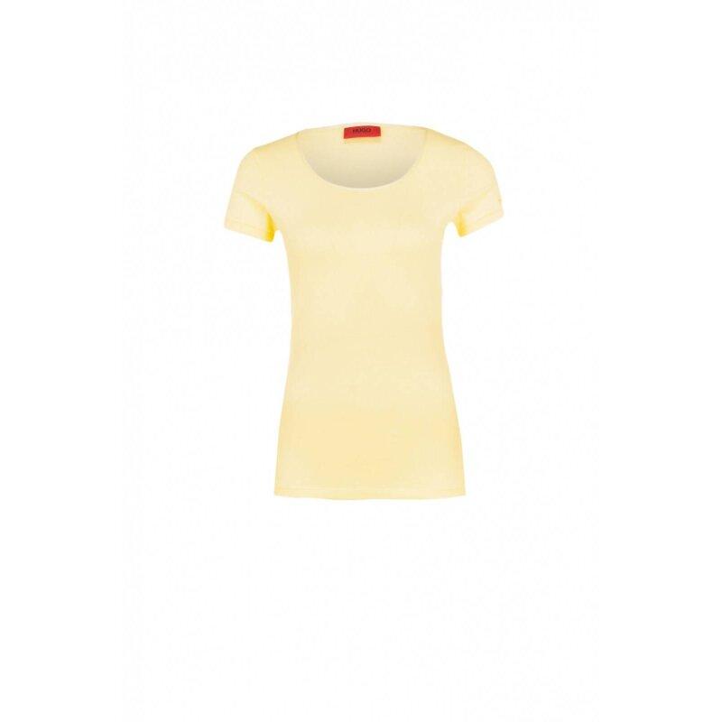 T-shirt Debena Hugo żółty