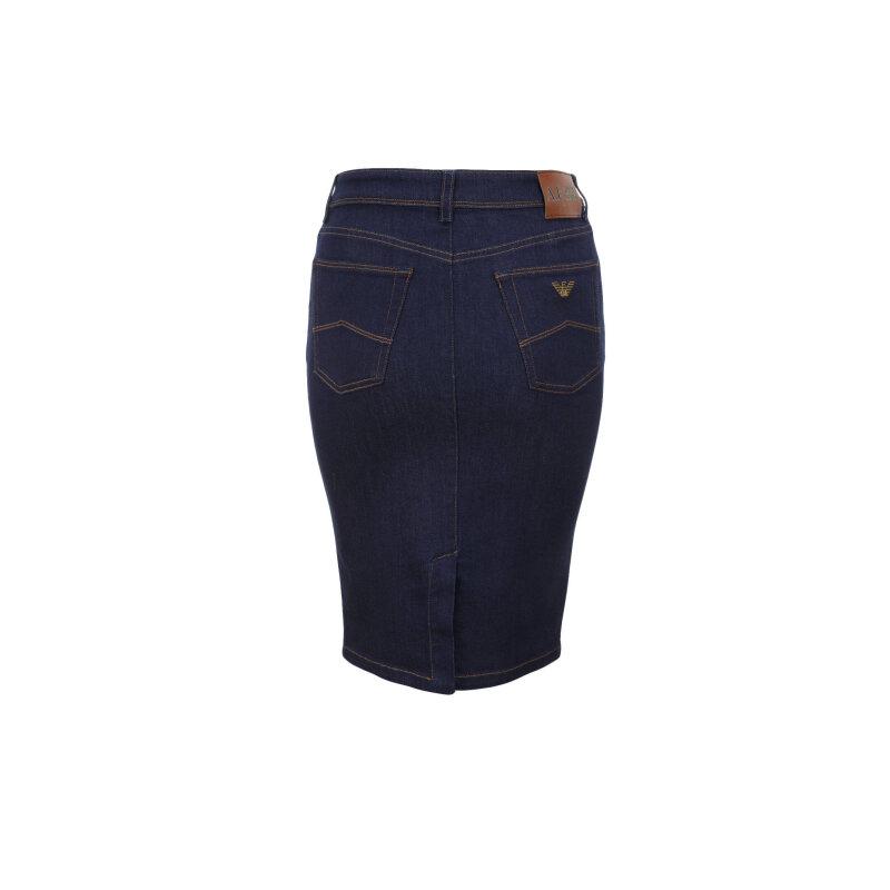 Spódnica Armani Jeans granatowy