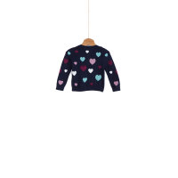Hearts mini Sweater Tommy Hilfiger navy blue