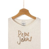 Sweter Pampa Pepe Jeans London kremowy