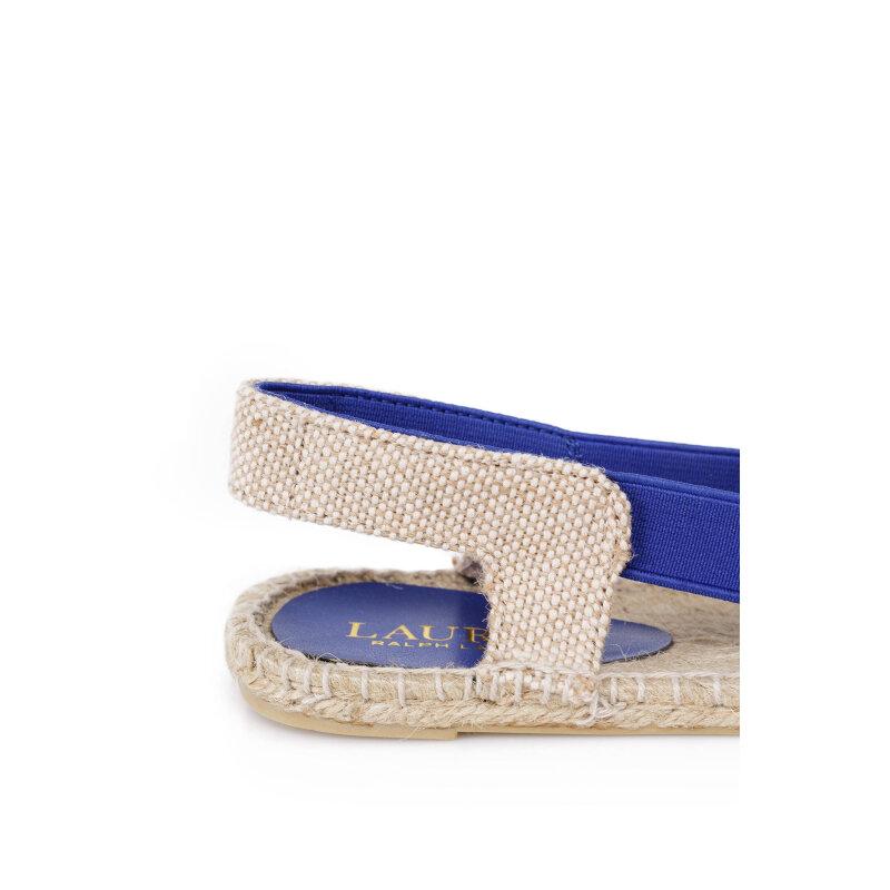 Espadryle Dafny Lauren Ralph Lauren niebieski