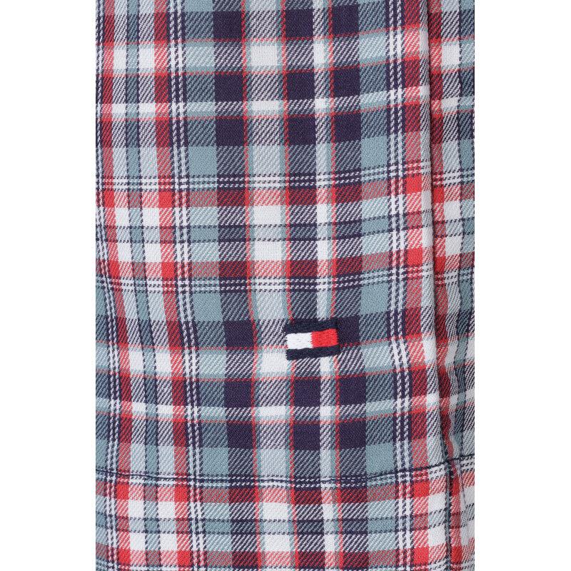 Piżama Icon Check Short Set Tommy Hilfiger granatowy