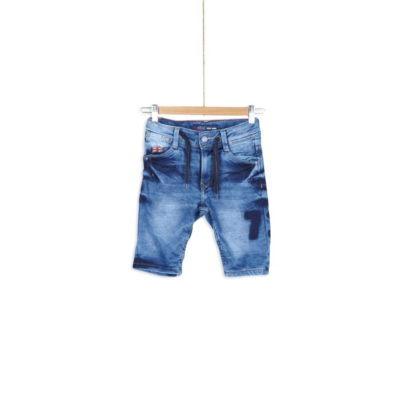 Szorty Whippet Pepe Jeans London niebieski