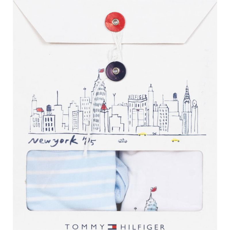 Body 2-pack Tommy Hilfiger błękitny