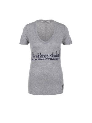 Desigual T-shirt Gris