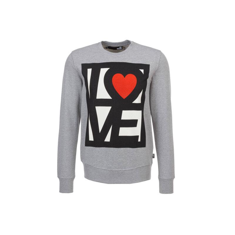 Bluza Love Moschino szary
