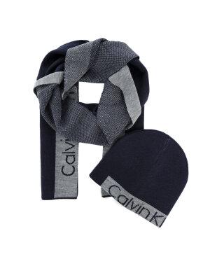 Calvin Klein Czapka + szal Power Logo