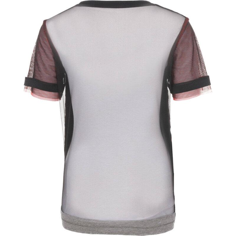 T-shirt T Raven Tank Top Diesel grafitowy