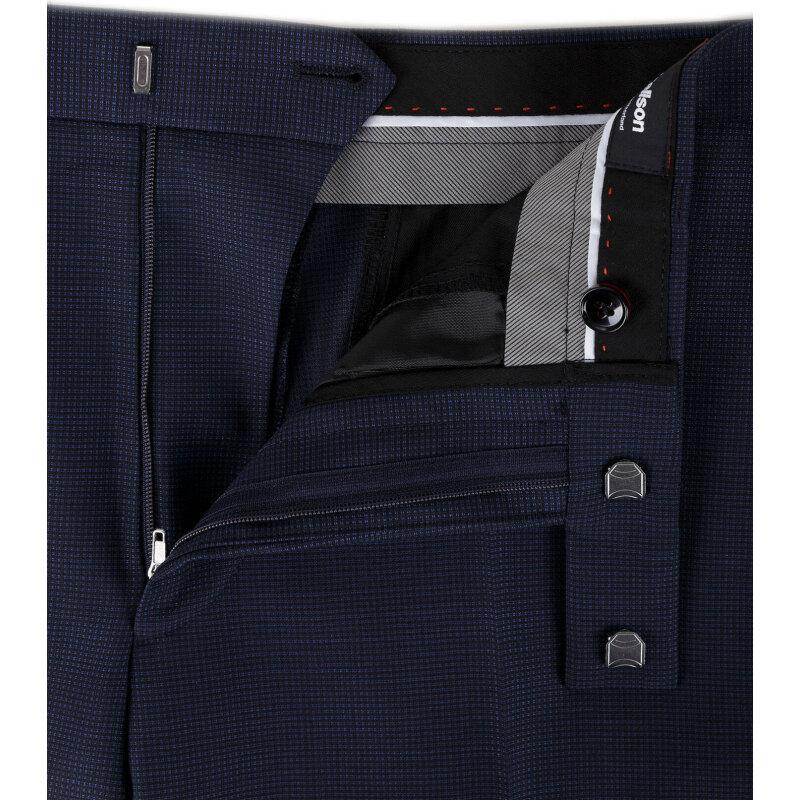 Spodnie 11 Mercer Strellson granatowy