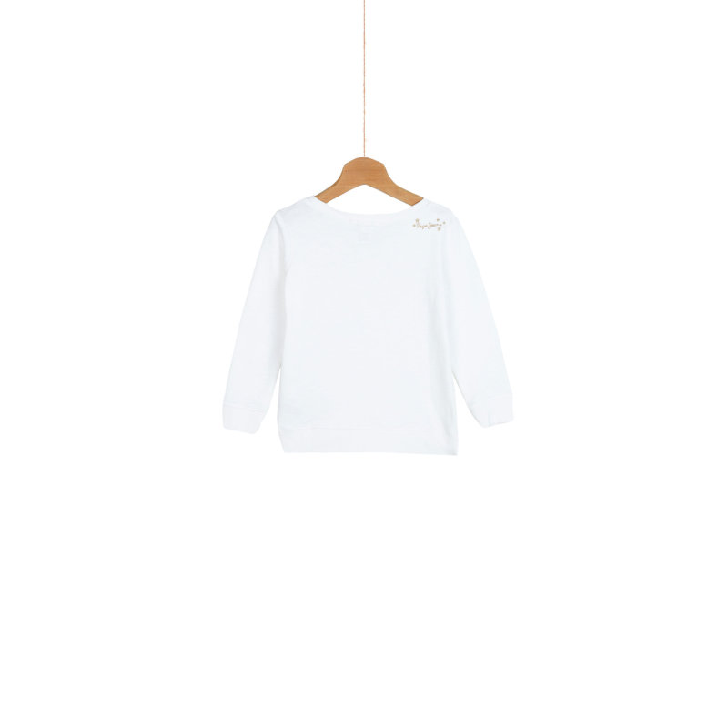 Zaya Sweatshirt Pepe Jeans London cream