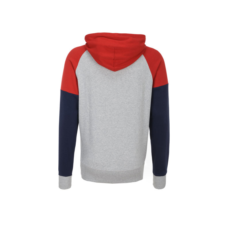 Bluza Color Blocking Fleece Tommy Hilfiger szary