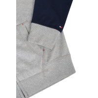 Color Blocking Fleece Sweatshirt Tommy Hilfiger gray