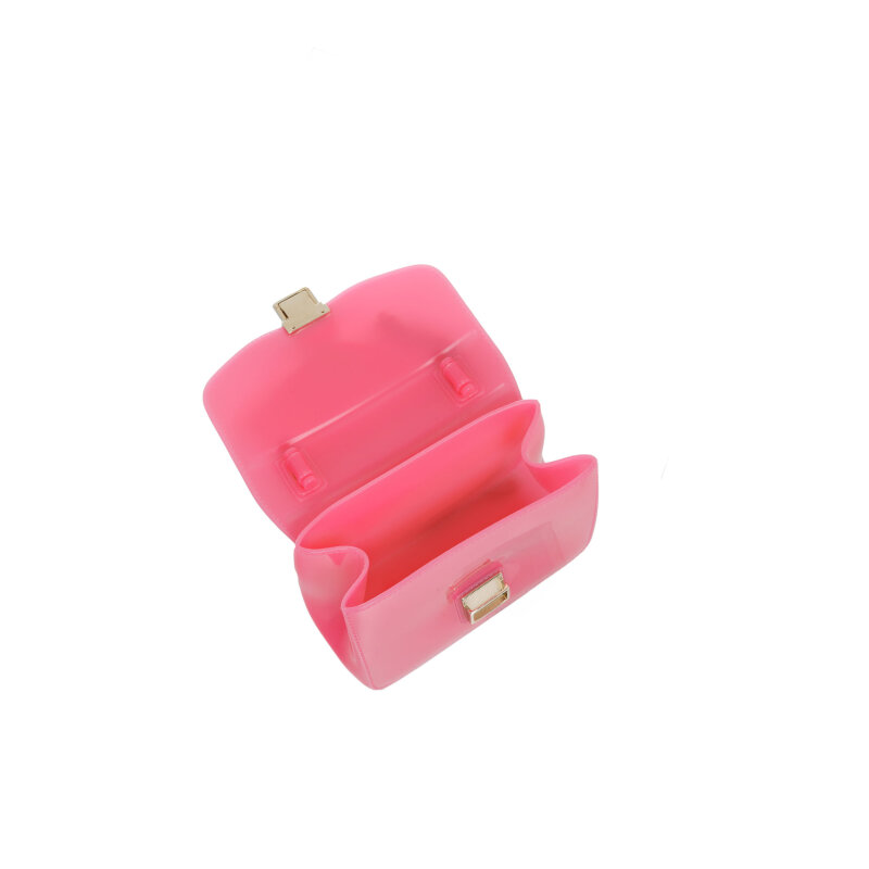 Kuferek Candy Furla różowy