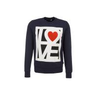 Bluza Love Moschino granatowy