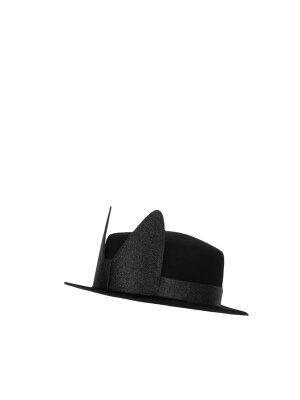 Karl Lagerfeld Woolen hat Brim