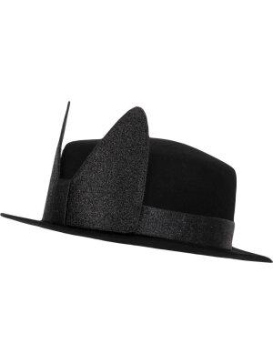 Karl Lagerfeld Wełniany kapelusz Brim
