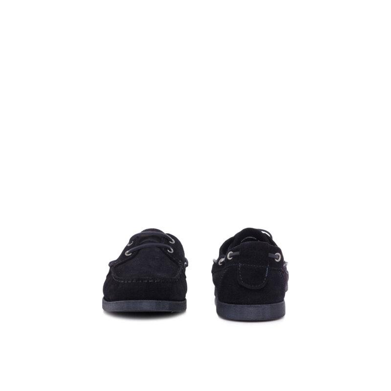 Mokasyny Armani Jeans granatowy