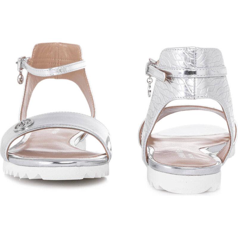 Sandały Armani Jeans srebrny