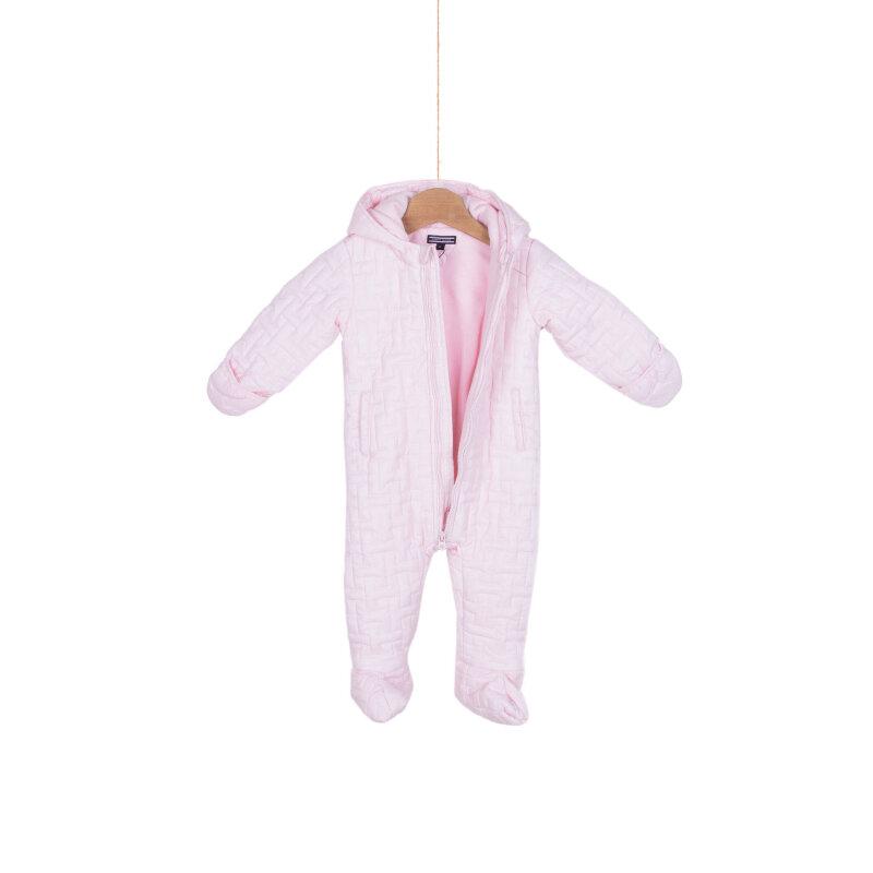 Jumpsuit Tommy Hilfiger powoler pink