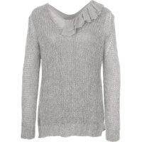 Sweter + bluzka Twinset szary