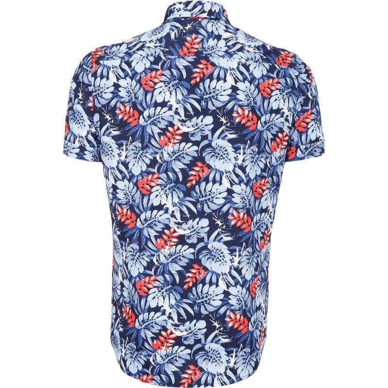 Koszula Leaf Pineapple Tommy Hilfiger niebieski