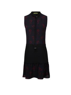 Versace Jeans Jedwabna sukienka