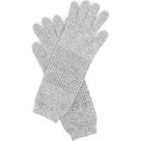 Rękawiczki Guanto Liu Jo popielaty