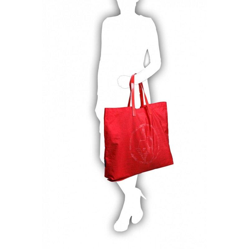 Shopperka Armani Jeans czerwony